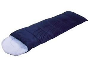 Saco de dormir rectangular de fibras sintéticas, abrigo y comodidad
