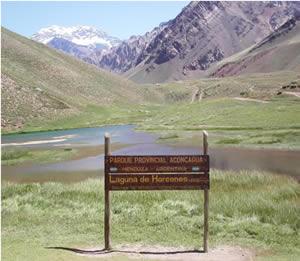 Laguna de Horcones.