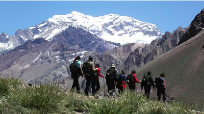 Aconcagua: Trekking Plaza Francia