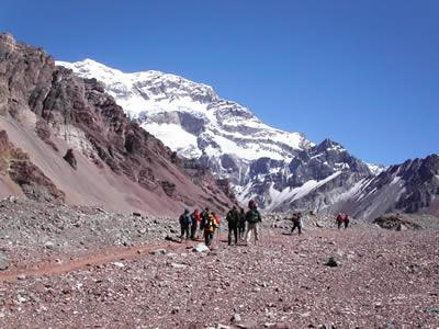 Trekking Aconcagua Mendoza Argentina
