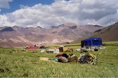 Cruce de la Cordillera de Los Andes Cabalgata Sanmartiniana