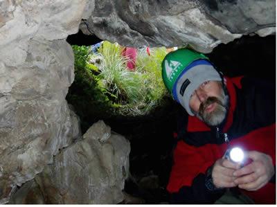 Cuchilla de las Aguilas - Barker cuevas