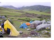 El campamento Senderos del Aconquija