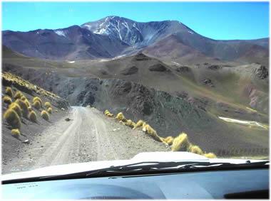 """Bajando por la Ruta 40 """"Abra del Acay"""""""