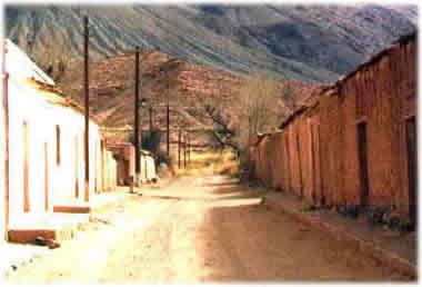 Pueblo histórico de La Poma