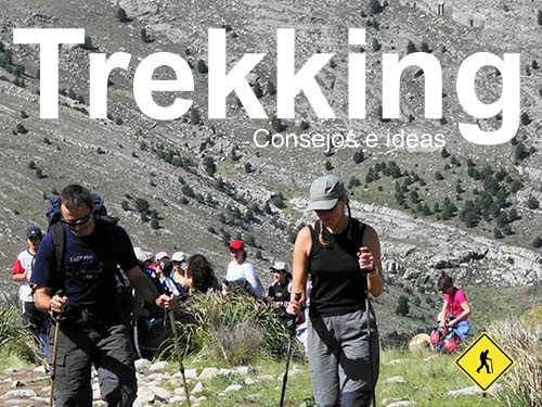 Consejos para hacer trekking y senderismo