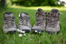 calzado de senderismo