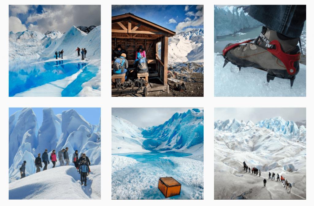 Perito Moreno Mini Trekking Esta mini caminata por Perito Moreno es la mejor excursión para visitar el glaciar, porque caminarás sobre el hielo del glaciar durante una hora y 40 minutos,