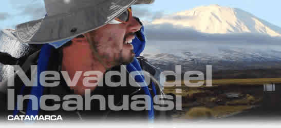 Montañismo en Catamarca Incahuasi
