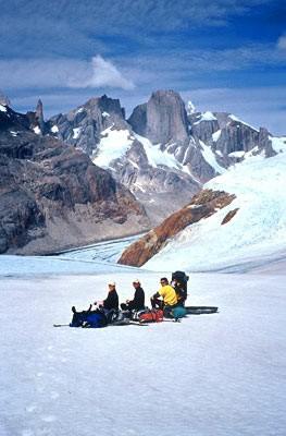 Ruta de trekking desde El Chalten