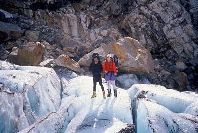 trekkigg desde El Chalten PAso MArconi