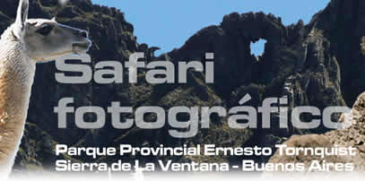 Parque Provincial Ernesto Tornquist Sierra de La Ventana