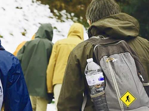 cuanta agua llevar en una excursión?