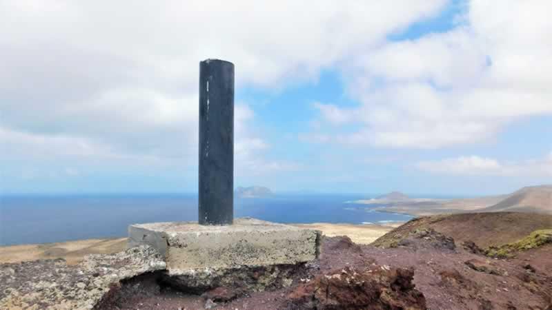 Senderismo Isla La Graciosa Lanzarote Canarias