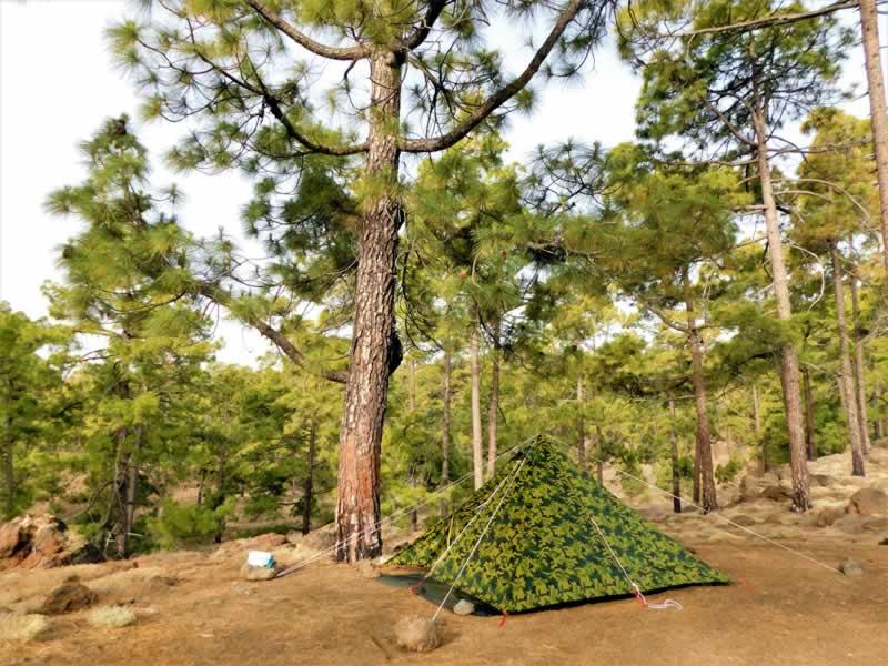 Tienda de acampada libre