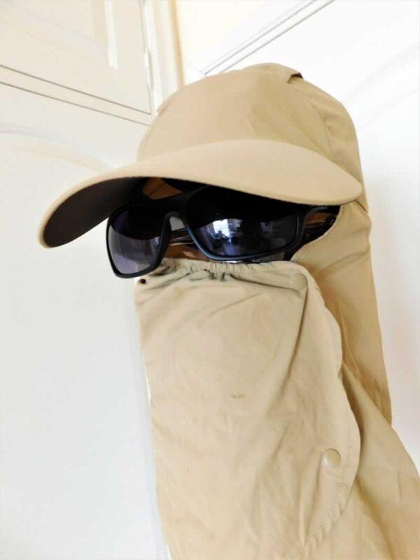 protegerse del sol en Desiertos y lugares áridos